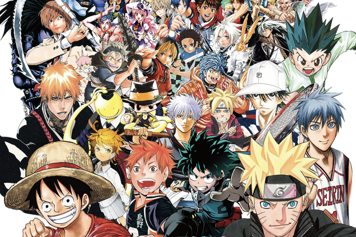 Shonen Jump Artwork Shonen Jump 1200x800 Download Hd Wallpaper Wallpapertip