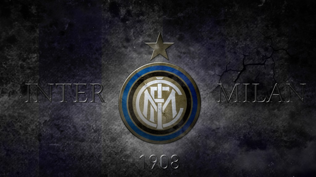 Inter Milan Logo Wallpaper Inter De Milan Logo Fond D Ecran 1024x576 Download Hd Wallpaper Wallpapertip