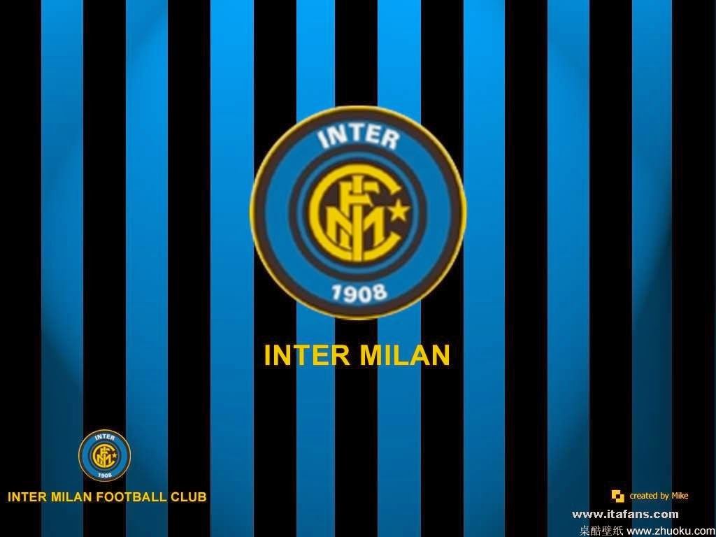 Inter Milan Fc Logo Wallpapers Hd 1024x768 Download Hd Wallpaper Wallpapertip