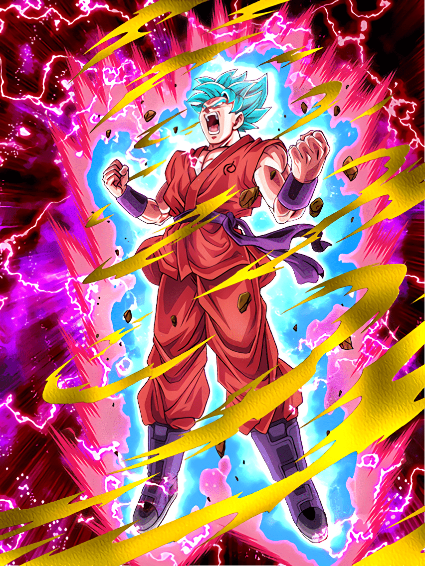Goku Ssgss Kaioken Dokkan Battle 852x1136 Download Hd Wallpaper Wallpapertip