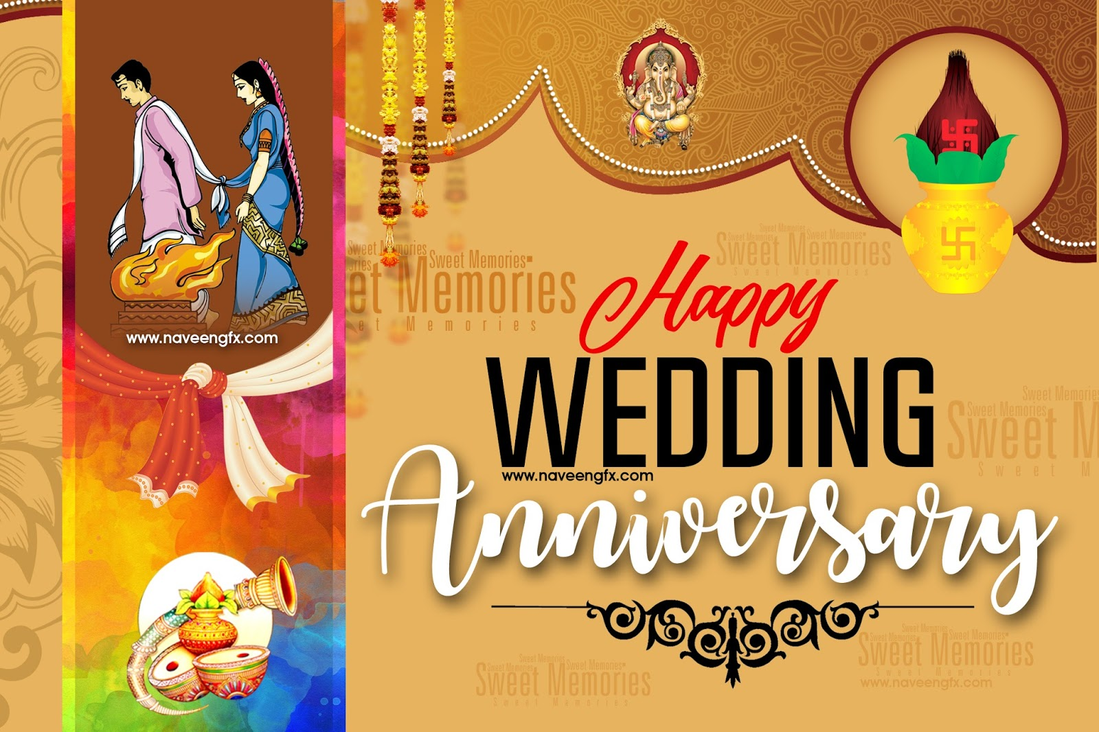 Wedding Anniversary Wishes Psd 1600x1066 Download Hd Wallpaper Wallpapertip