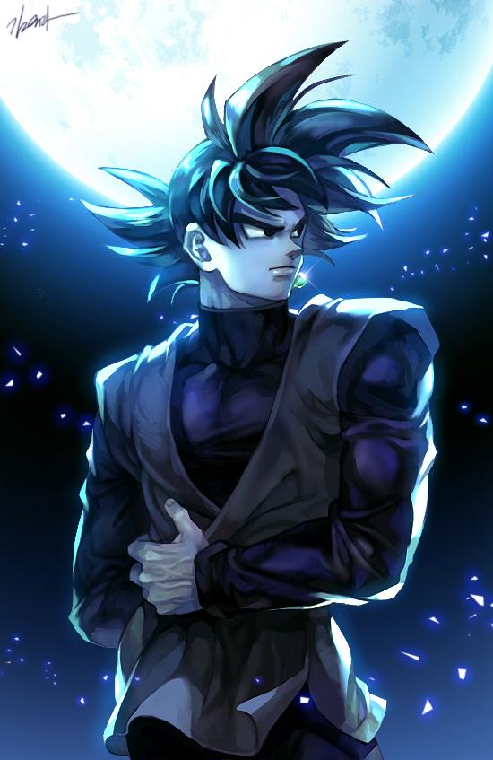 Anime Pixiv Id 9040790 Dragon Ball Super Black Goku 550x847 Download Hd Wallpaper Wallpapertip