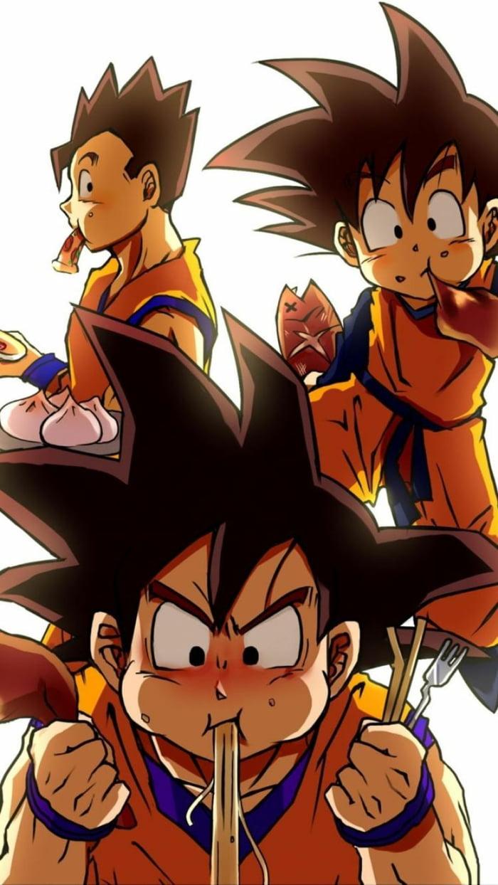 Dbz Goku Gohan Goten 700x1244 Download Hd Wallpaper Wallpapertip