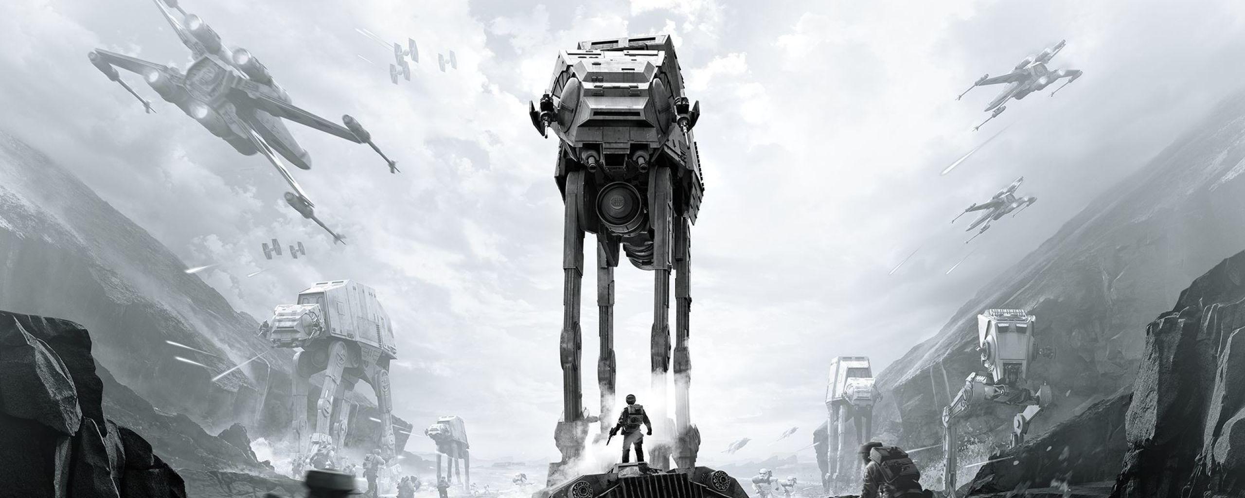 Dual Screen Wallpaper Hd Star Wars Star Wars Battlefront 2 2560x1024 Download Hd Wallpaper Wallpapertip