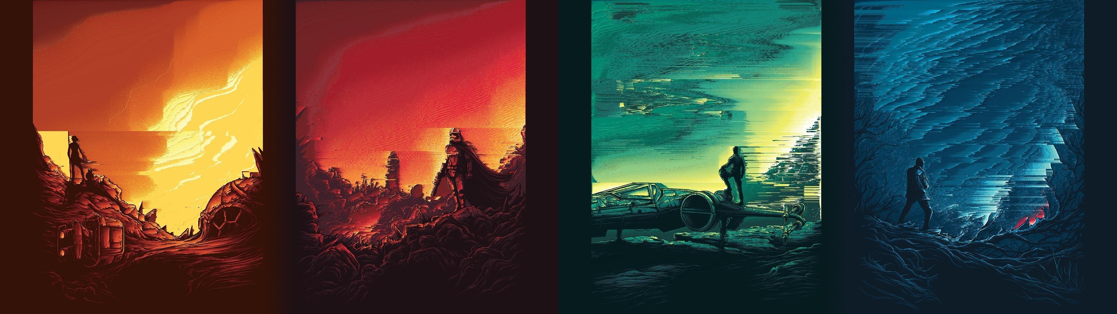 Star Wars Dual Monitor Wallpaper Hd 3840x1080 Download Hd Wallpaper Wallpapertip