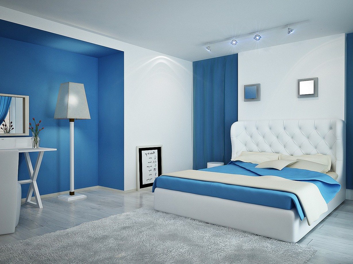 Two Colour Combination For Bedroom Walls - 10x10 - Download HD