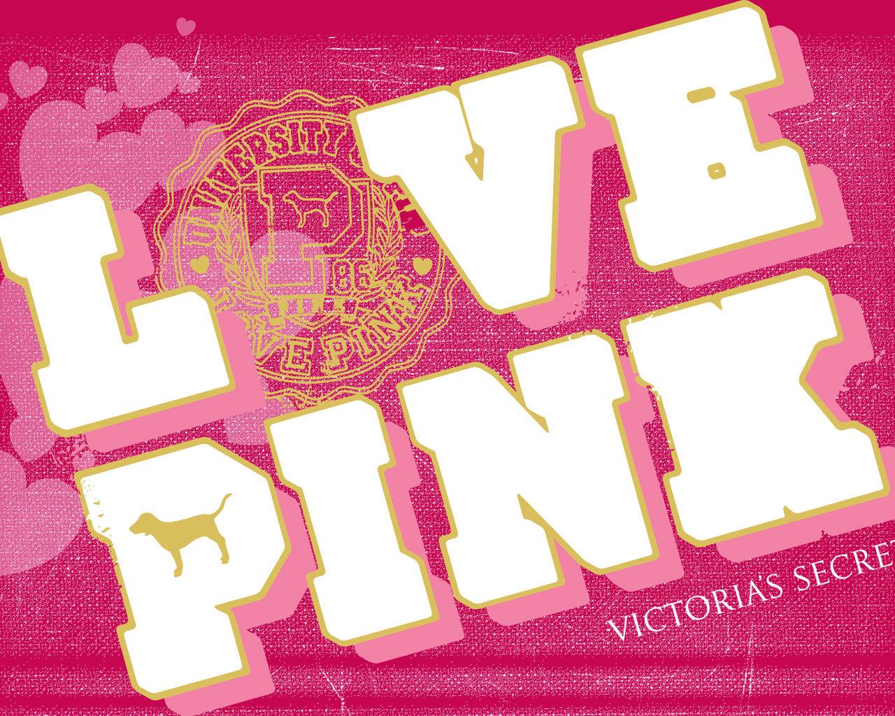 ビクトリアシークレットピンクシングス ピンク店の壁紙 1280x1024 Wallpapertip