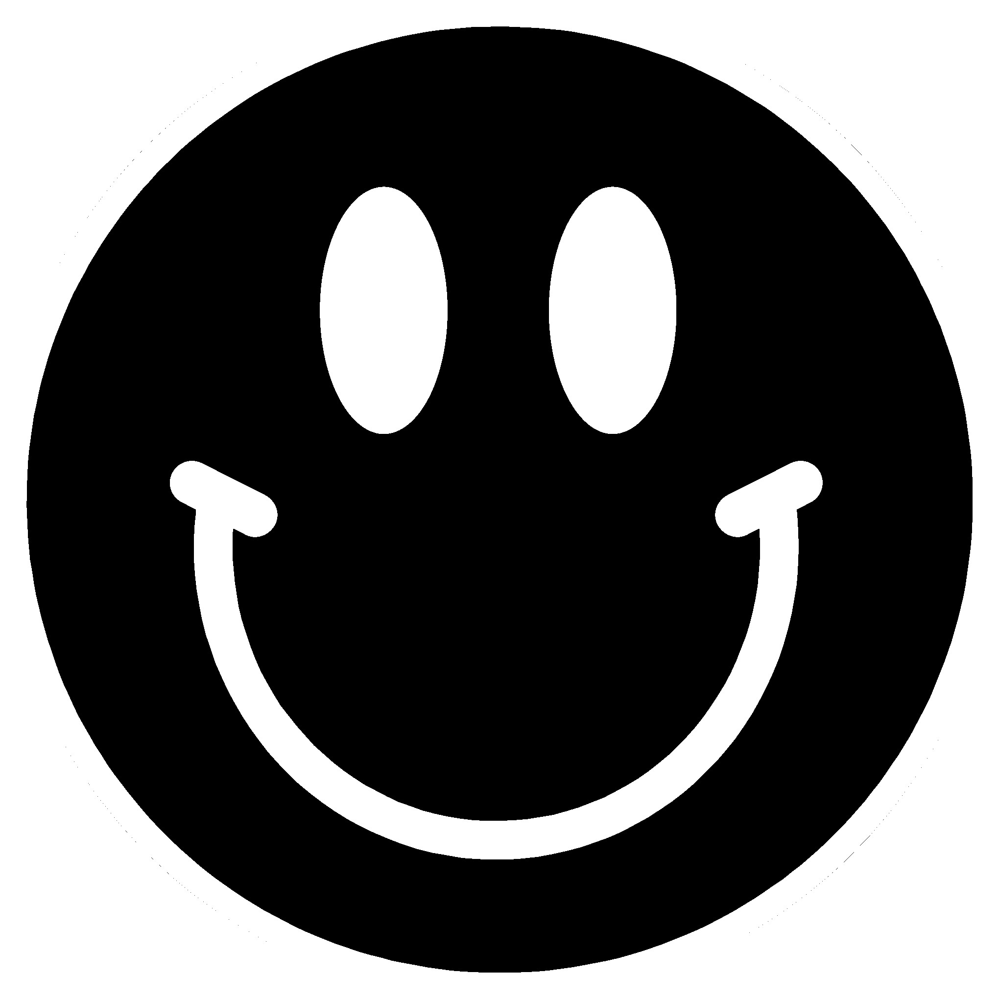 Smiley Face Black Backgrounds Wallpaper Cave Src Black And White Smiley Face 2040x2040 Download Hd Wallpaper Wallpapertip