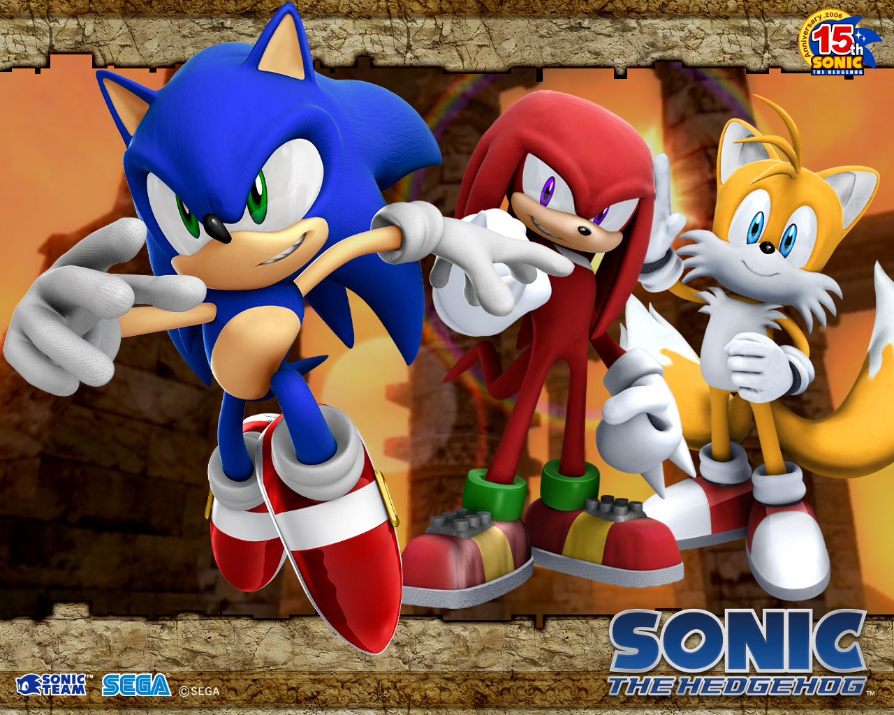 sonic the hedgehog 20 team 20 sonic   Sonic und Tails Wallpaper ...