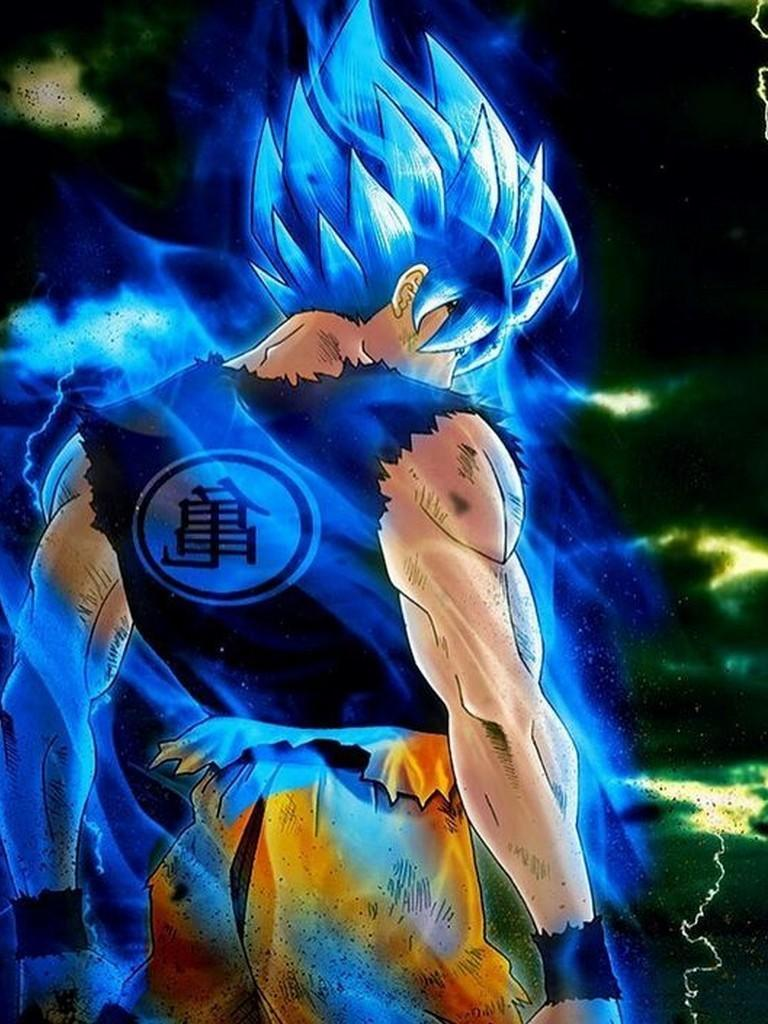 Super Saiyan Blue Wallpaper Hd 768x1024 Download Hd Wallpaper Wallpapertip
