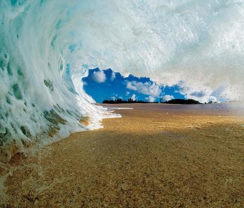 Hawaii Vague Pause Photographie Clark Peu Fond D Ecran Tablette 500x427 Wallpapertip