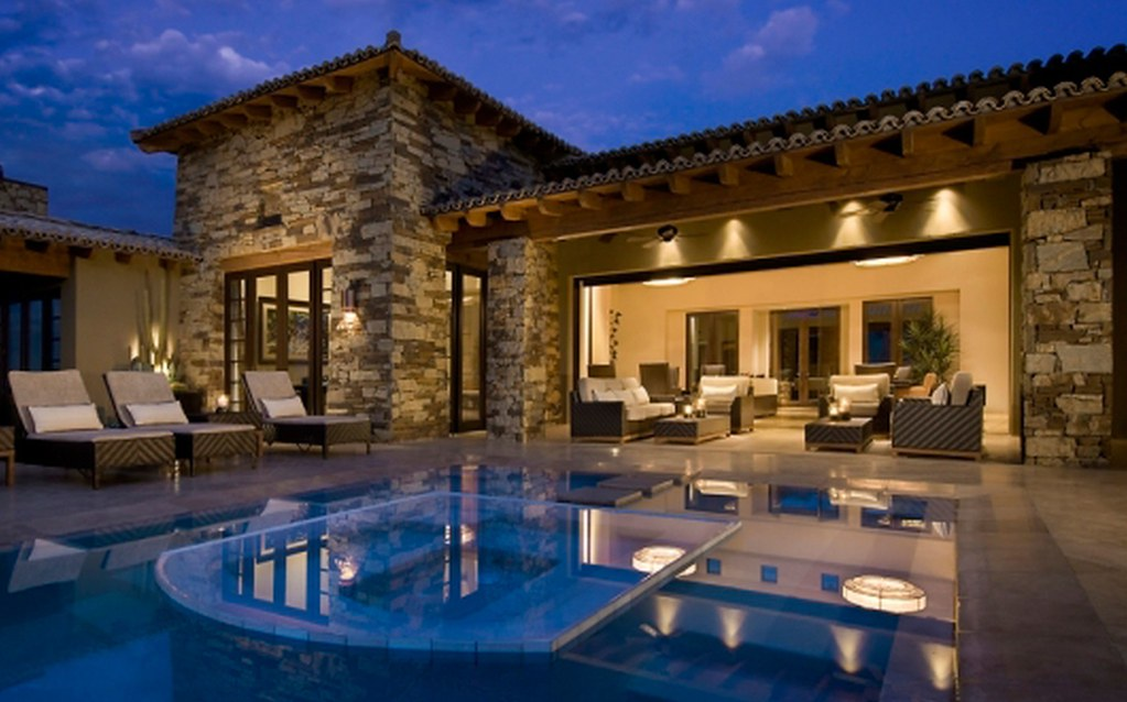 Luxury Modern Stone House 1023x638 Download Hd Wallpaper Wallpapertip