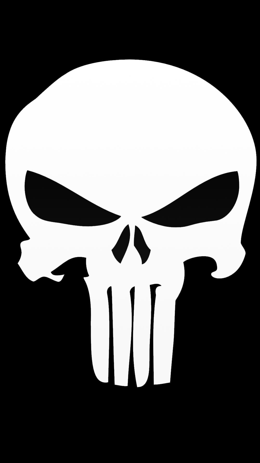 Punisher Skull Wallpaper