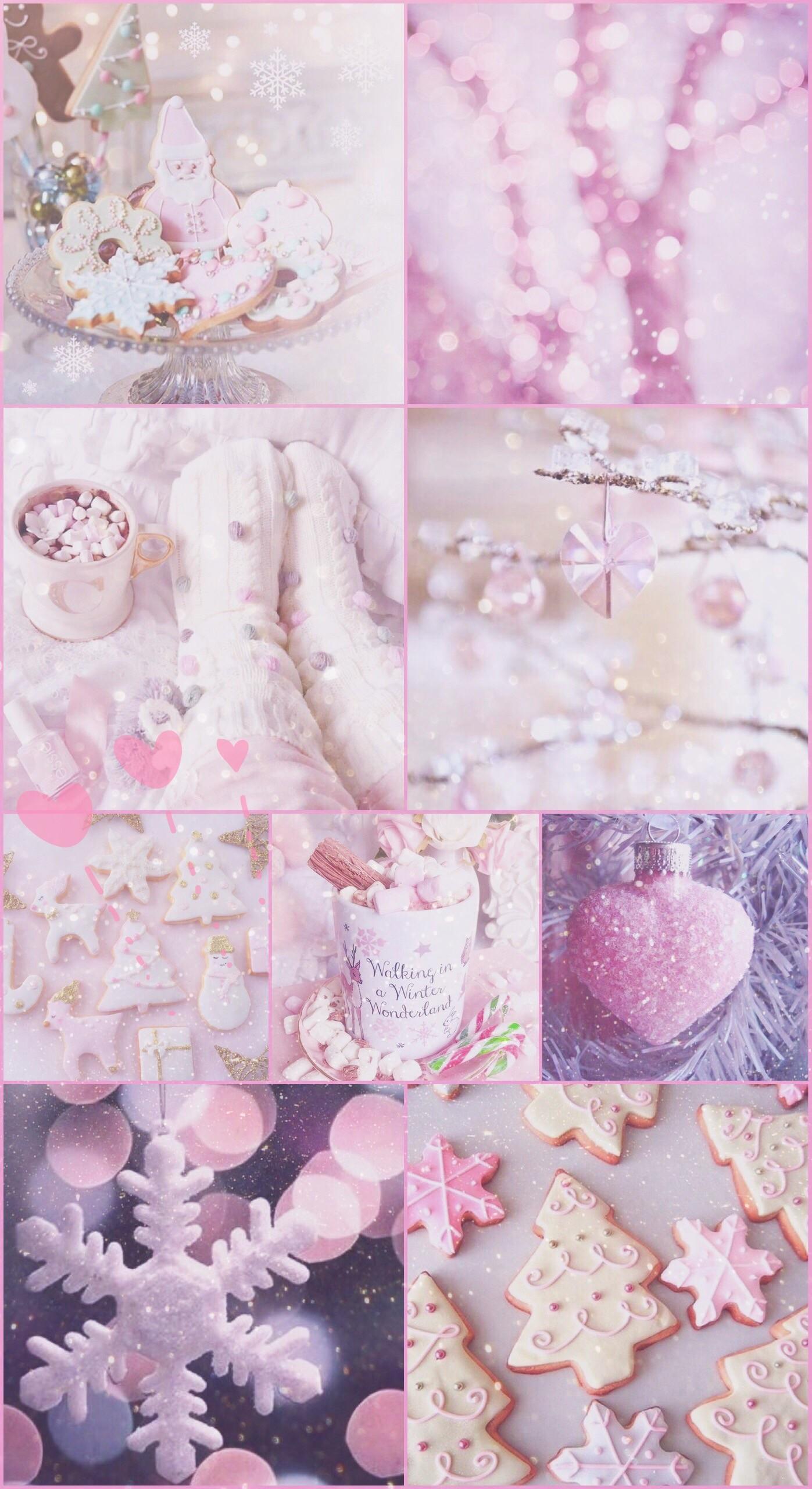 78 785908 xmas christmas pink pretty sparkly glitter white wallpaper