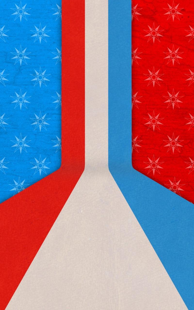 アメリカ合衆国の旗 赤白青壁紙 800x1280 Wallpapertip