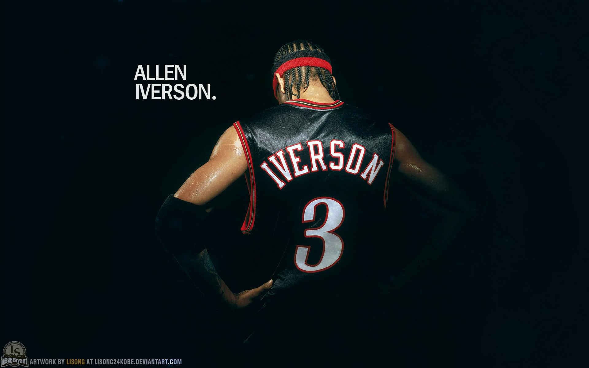 Allen Iverson Wallpaper 4k 1920x1200 Download Hd Wallpaper Wallpapertip