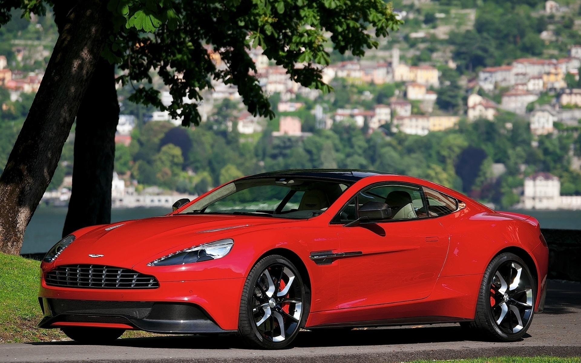 Carro Aston Martin Vermelho Poze Wallpaper Hd 1600x1000 Wallpapertip