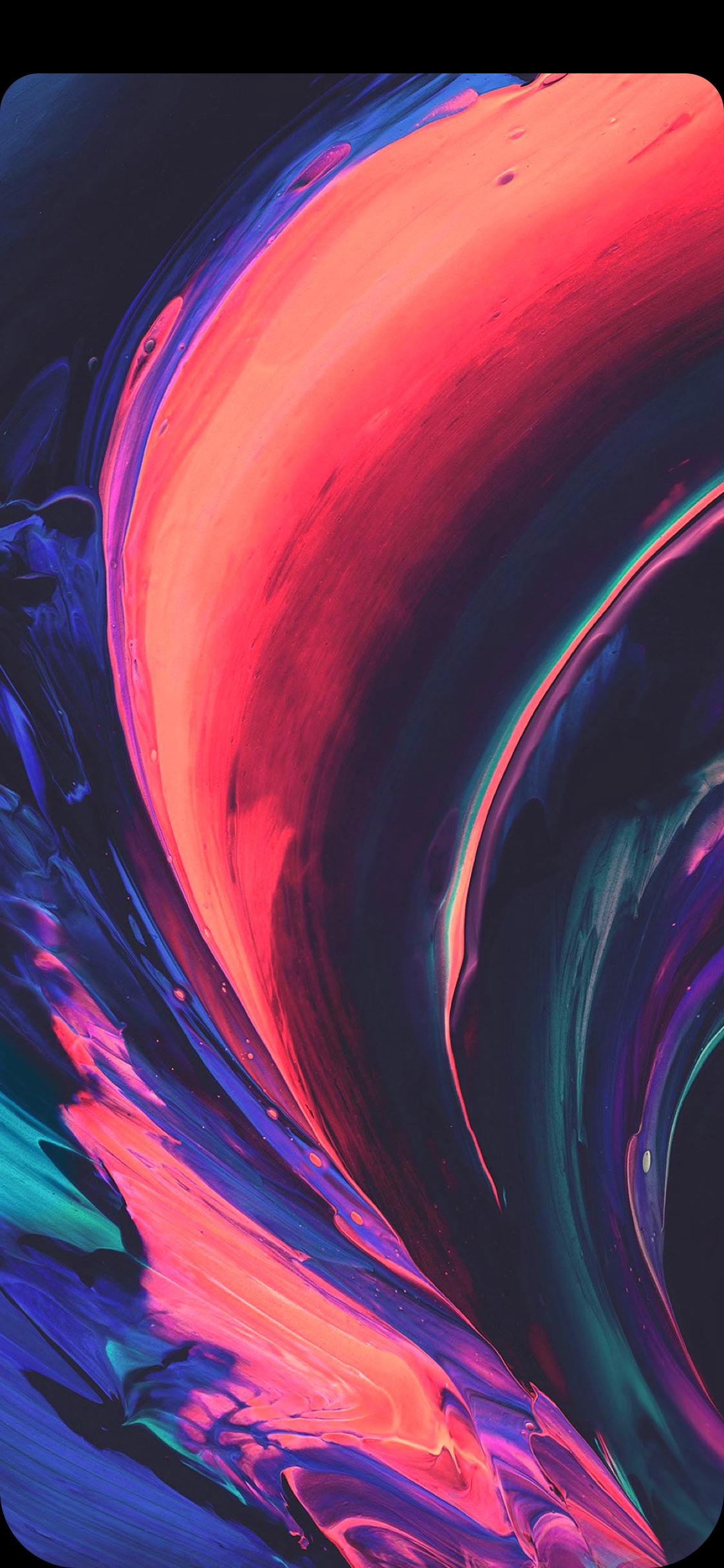 Iphone X Notch Hiding 1125x2436 Download Hd Wallpaper Wallpapertip