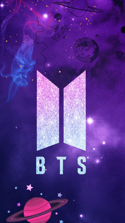 #freetoedit #remixed #bts #logo #wallpaper #galaxy - Bts ...