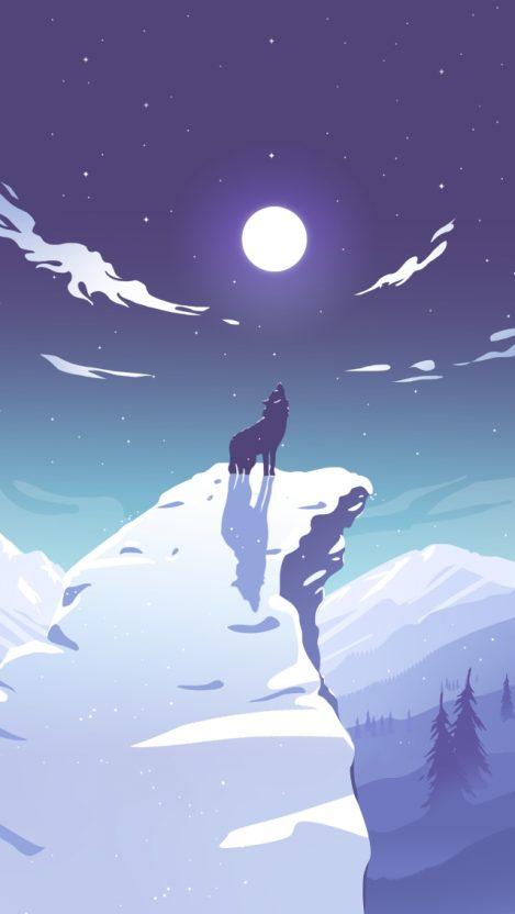 Wolf Anime Wallpaper Iphone 469x832 Download Hd Wallpaper Wallpapertip