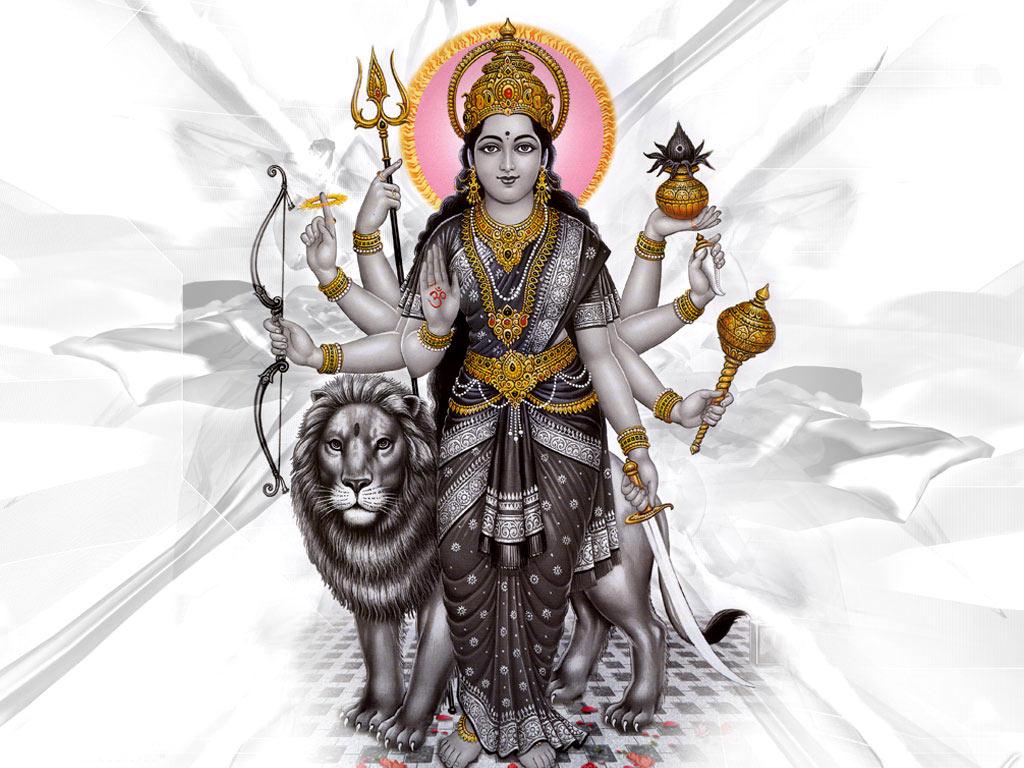 Maa Durga 1024x768 Download Hd Wallpaper Wallpapertip