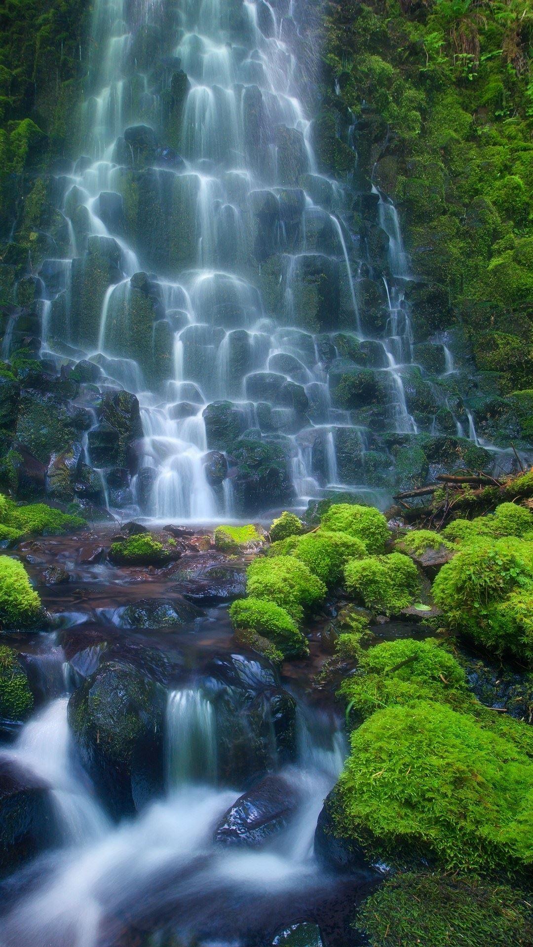 Waterfall Images Hd Download 1080x1920 Download Hd Wallpaper Wallpapertip