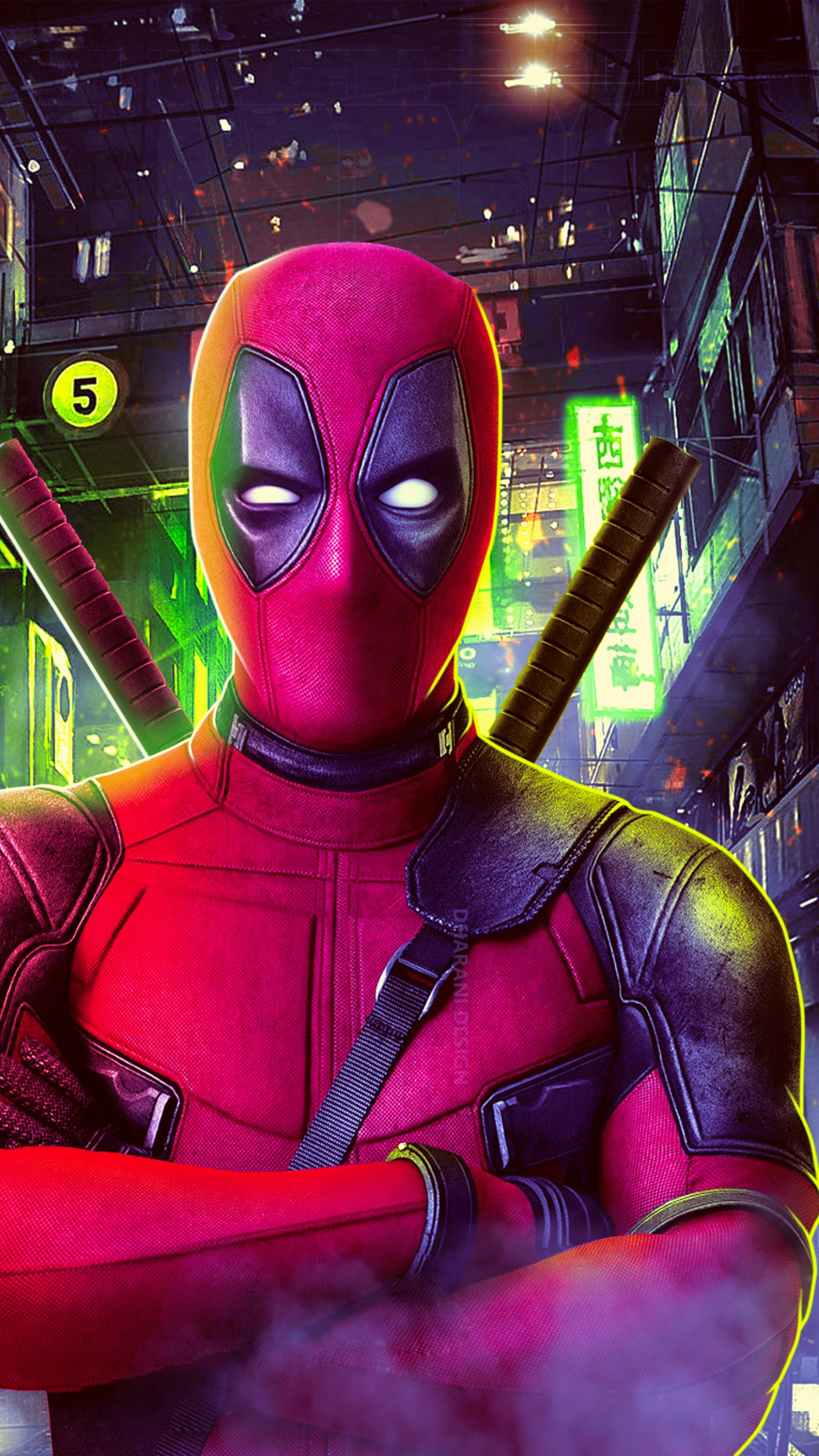 Deadpool Hd 4k Wallpaper Deadpool Wallpaper Hd 4k 1080x1920 Download Hd Wallpaper Wallpapertip