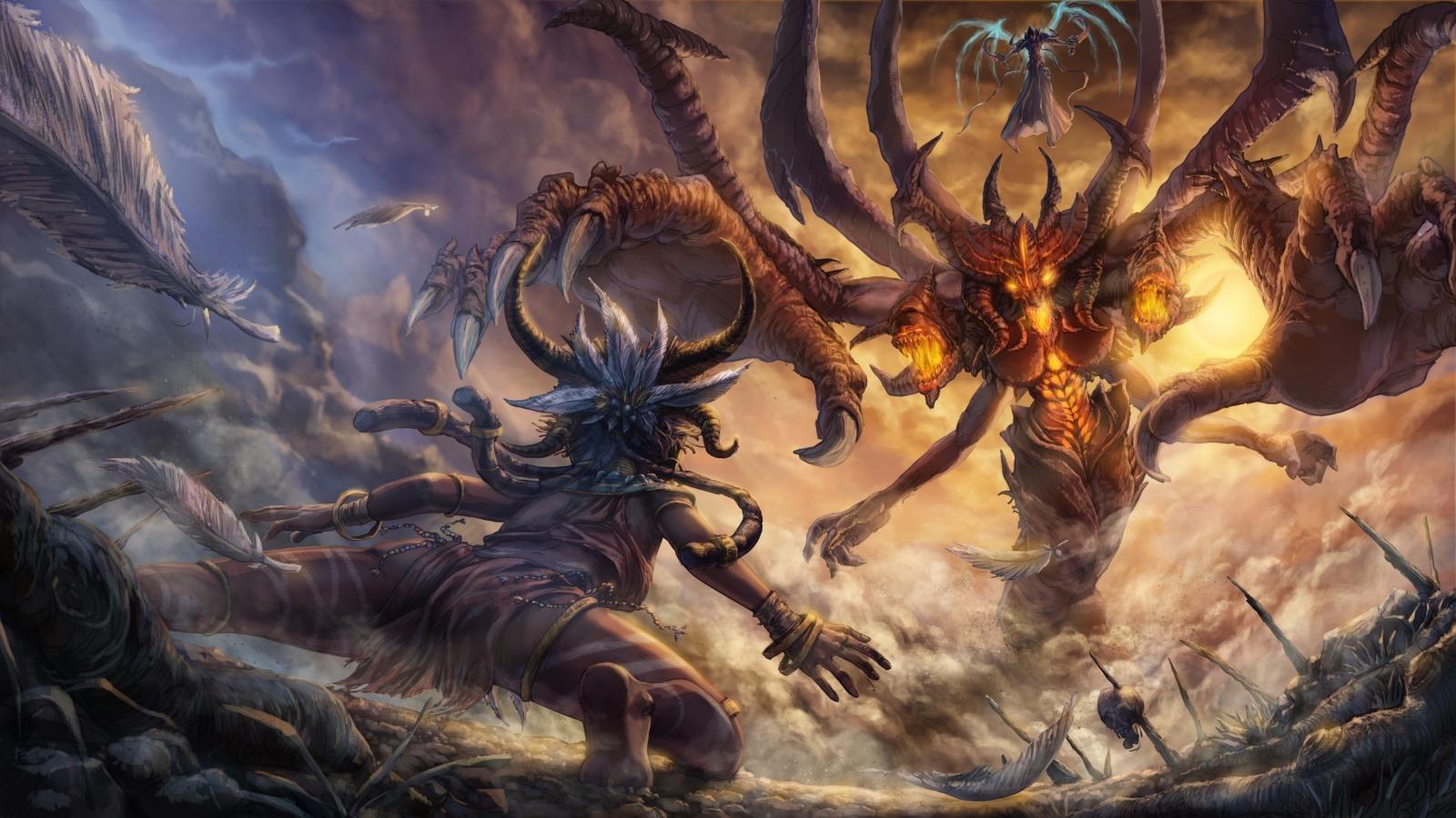 Download Hd Diablo Diablo 3 Witch Doctor Art 1600x900 Download Hd Wallpaper Wallpapertip