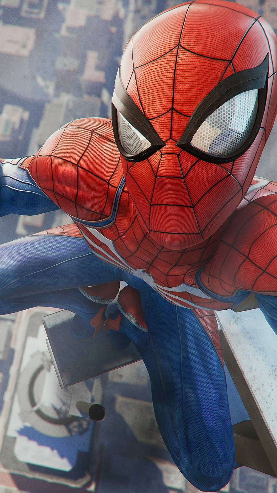 Spider Man Ps4 Selfie 900x1600 Download Hd Wallpaper Wallpapertip