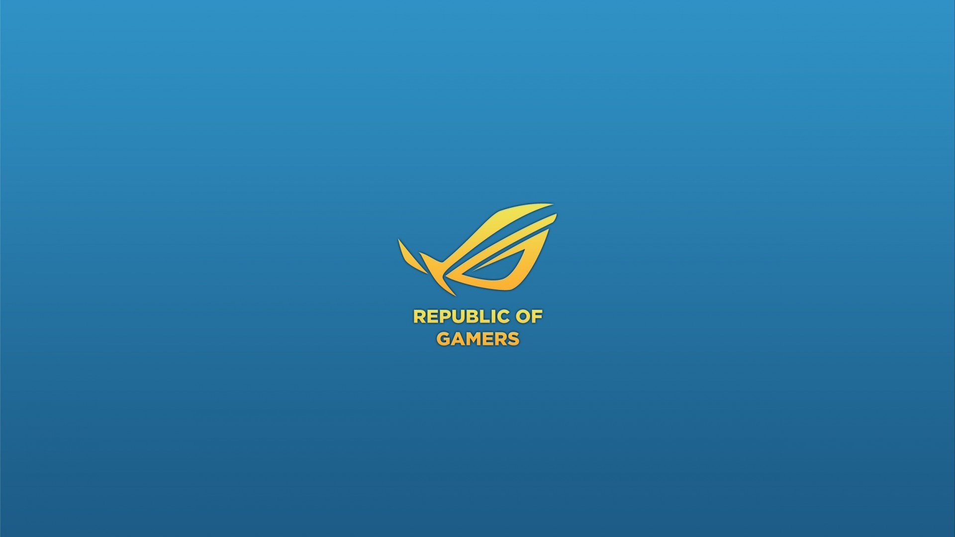 80 809707 asus republic gamers computer game wallpaper blue and