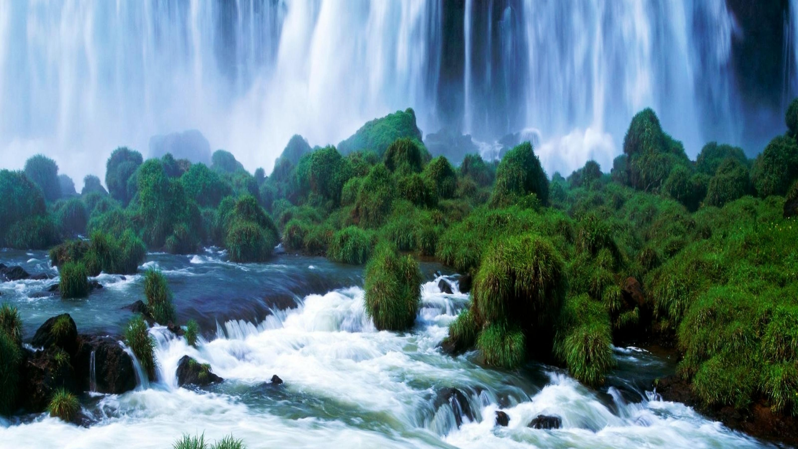 3d Nature Wallpaper Latest Awesome 6ud5y0t0 Iguacu National Park 2560x1440 Download Hd Wallpaper Wallpapertip