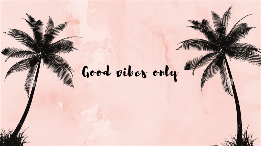 Positive Aesthetic Laptop Hd Wallpapers 1080p 4k Coconut Tree Png Black 1080x607 Download Hd Wallpaper Wallpapertip