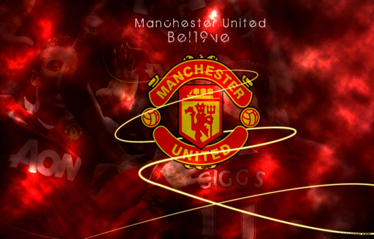 Manchester United Manchester United Wallpaper Herunterladen 1296x828 Wallpapertip