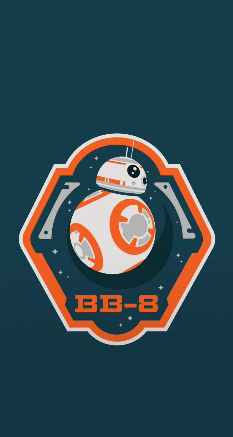 Star Wars Bb8 Phone 744x1392 Download Hd Wallpaper Wallpapertip