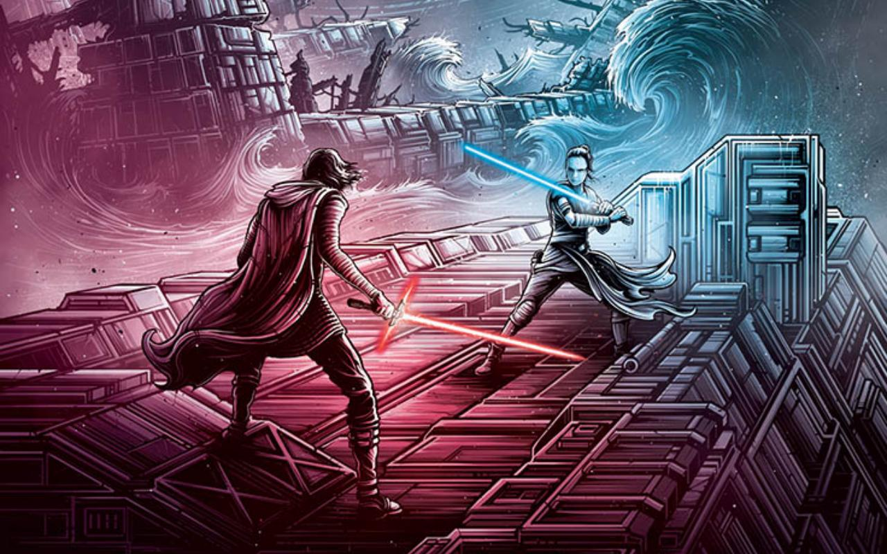 Dan Mumford Rise Of Skywalker 1280x800 Download Hd Wallpaper Wallpapertip