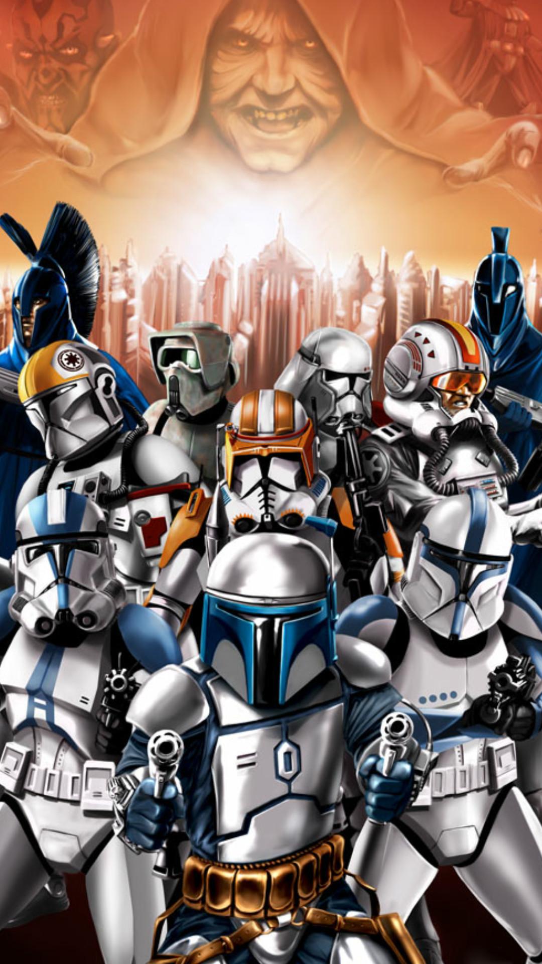 501st Legion From Star Wars 1080x1920 Download Hd Wallpaper Wallpapertip
