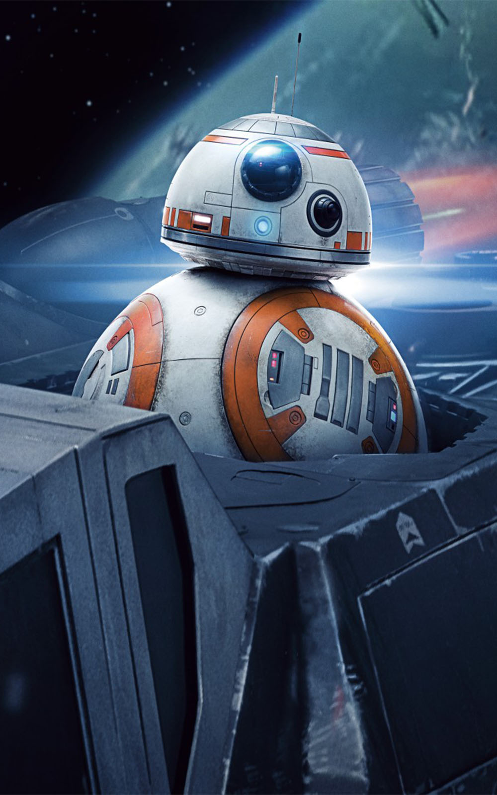 Bb 8 In Star Wars The Last Jedi Hd Mobile Wallpaper Star Wars Wallpaper 4k 1000x1600 Download Hd Wallpaper Wallpapertip