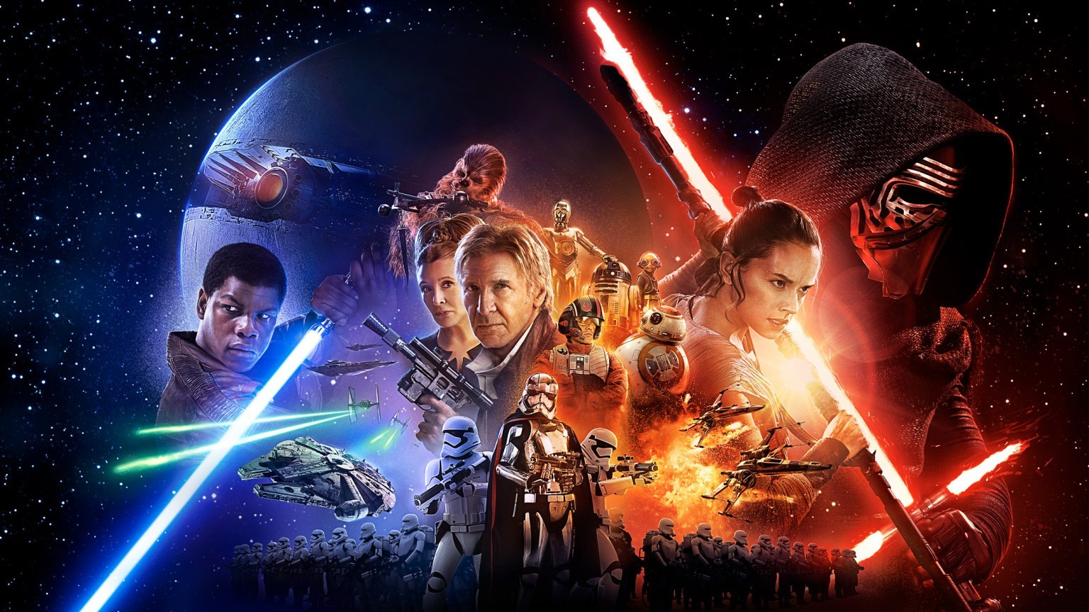 Desktop Wallpaper Star Wars 1536x864 Download Hd Wallpaper Wallpapertip