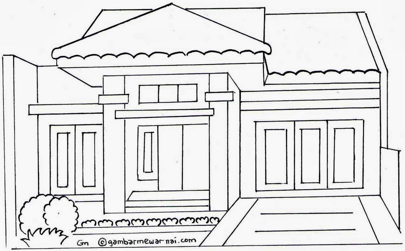 Gambar Rumah Minimalis Rumah Kartun