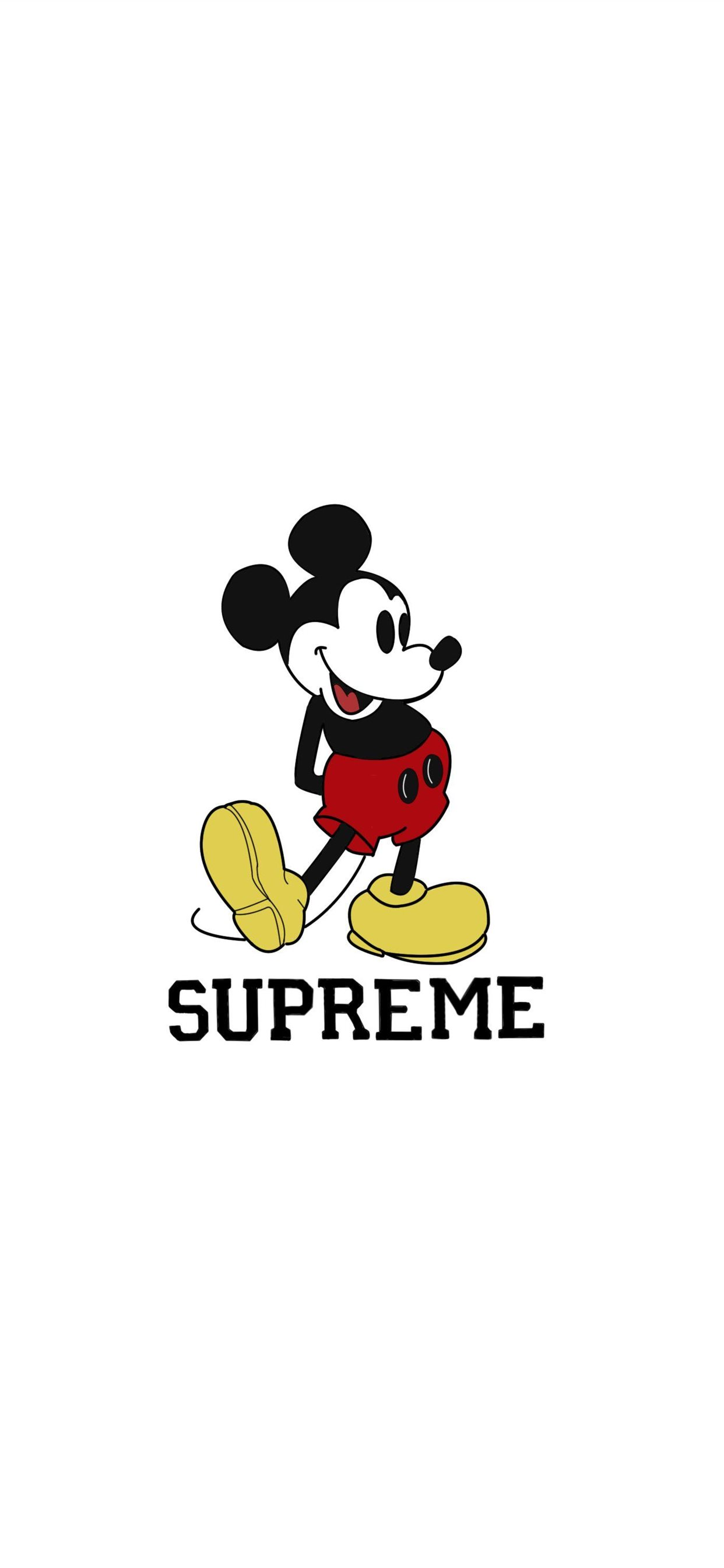 Supreme Cave Iphone 11 Wallpaper Supreme Wallpaper Mickey Mouse 1242x2688 Download Hd Wallpaper Wallpapertip