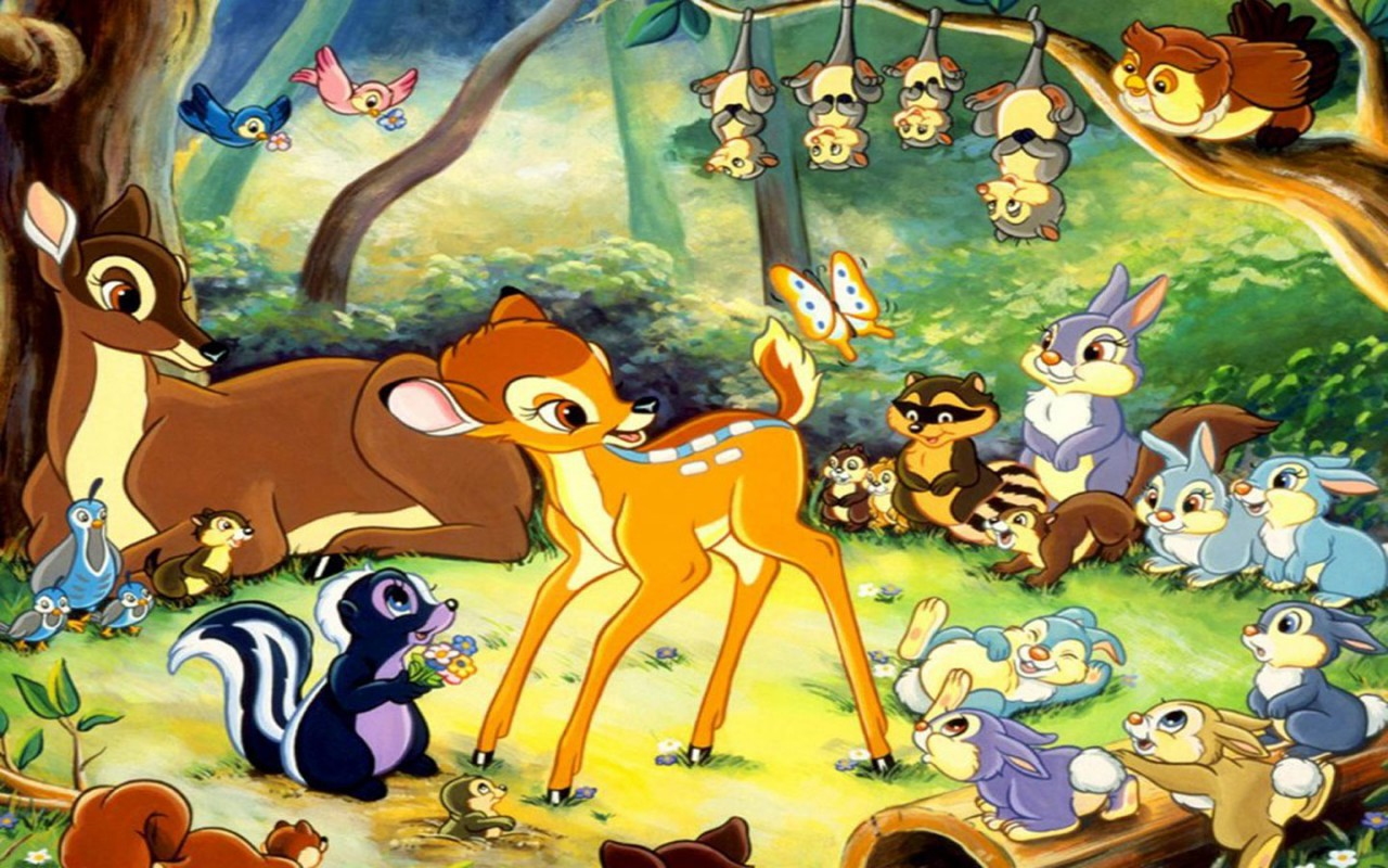 Disney Bambi- Custom Wallpaper Mural