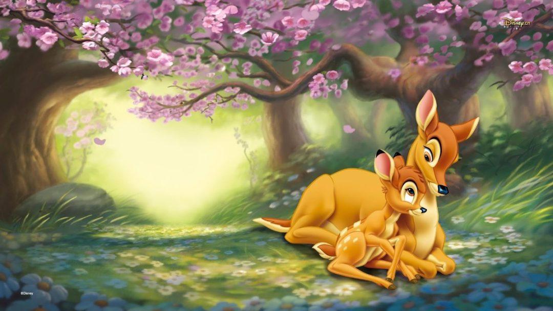 Bambi Fond D Ecran Hd Papier Peint Bambi 1080x608 Wallpapertip