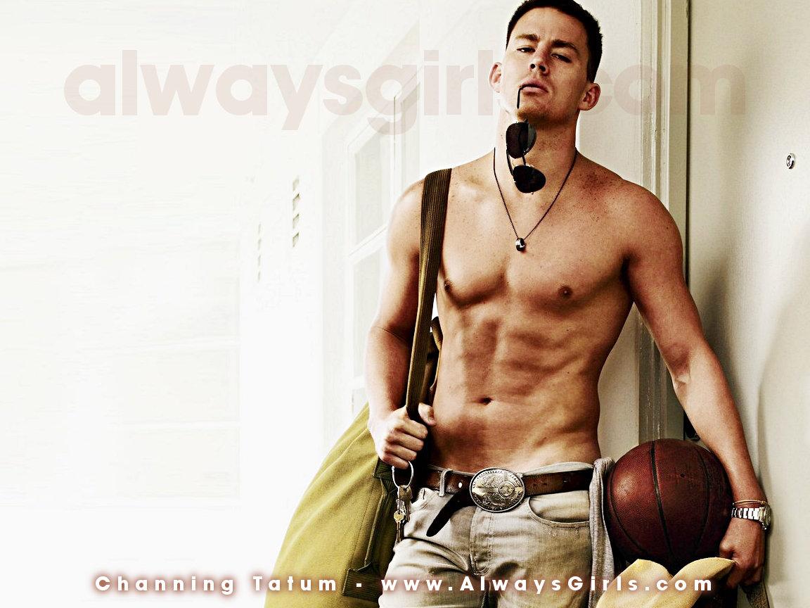 Channing Tatum Topless