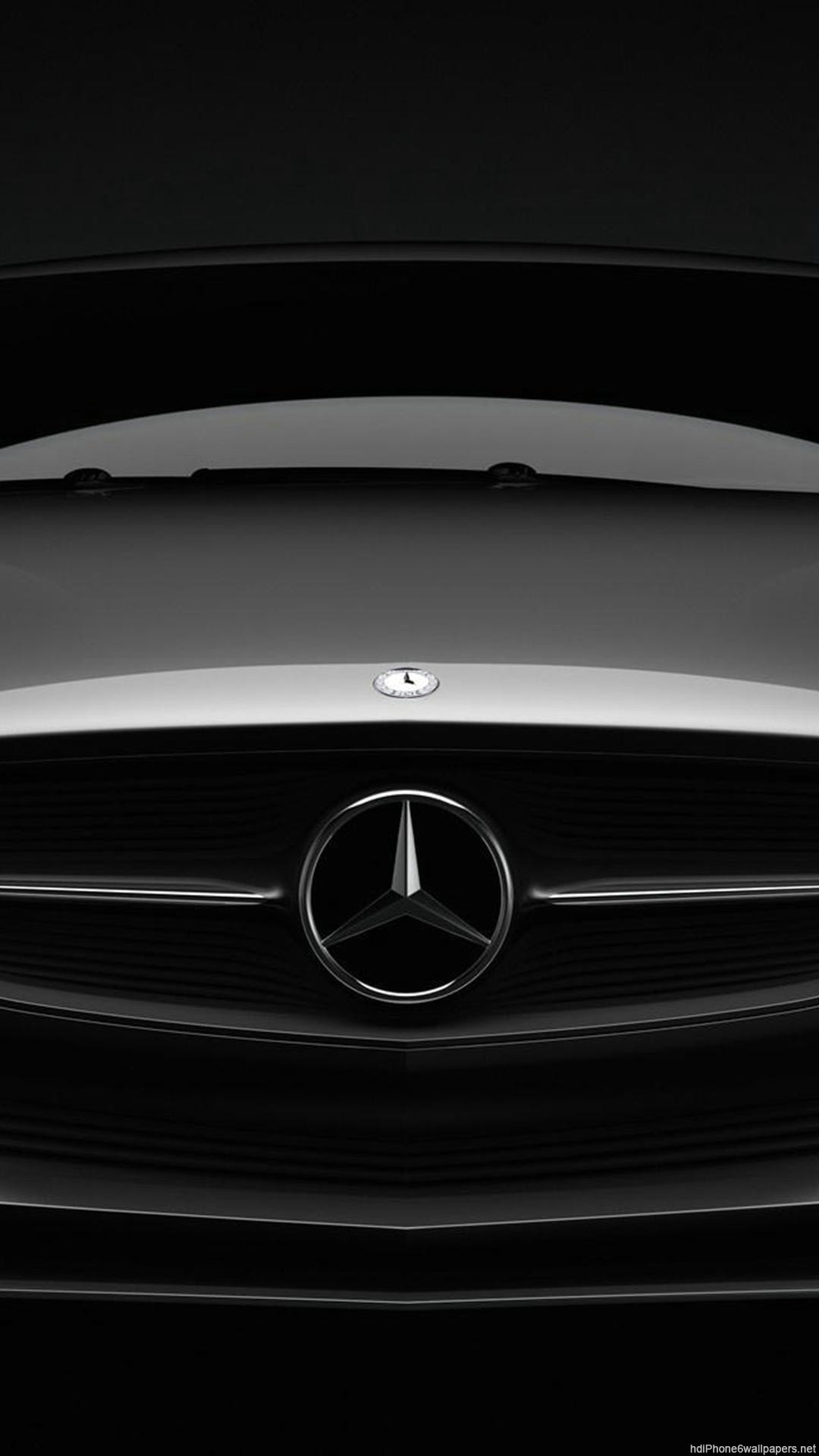 Mercedes Car Iphone 6 Wallpapers Hd Mercedes Benz Logo Wallpaper Mobile 1080x1920 Download Hd Wallpaper Wallpapertip