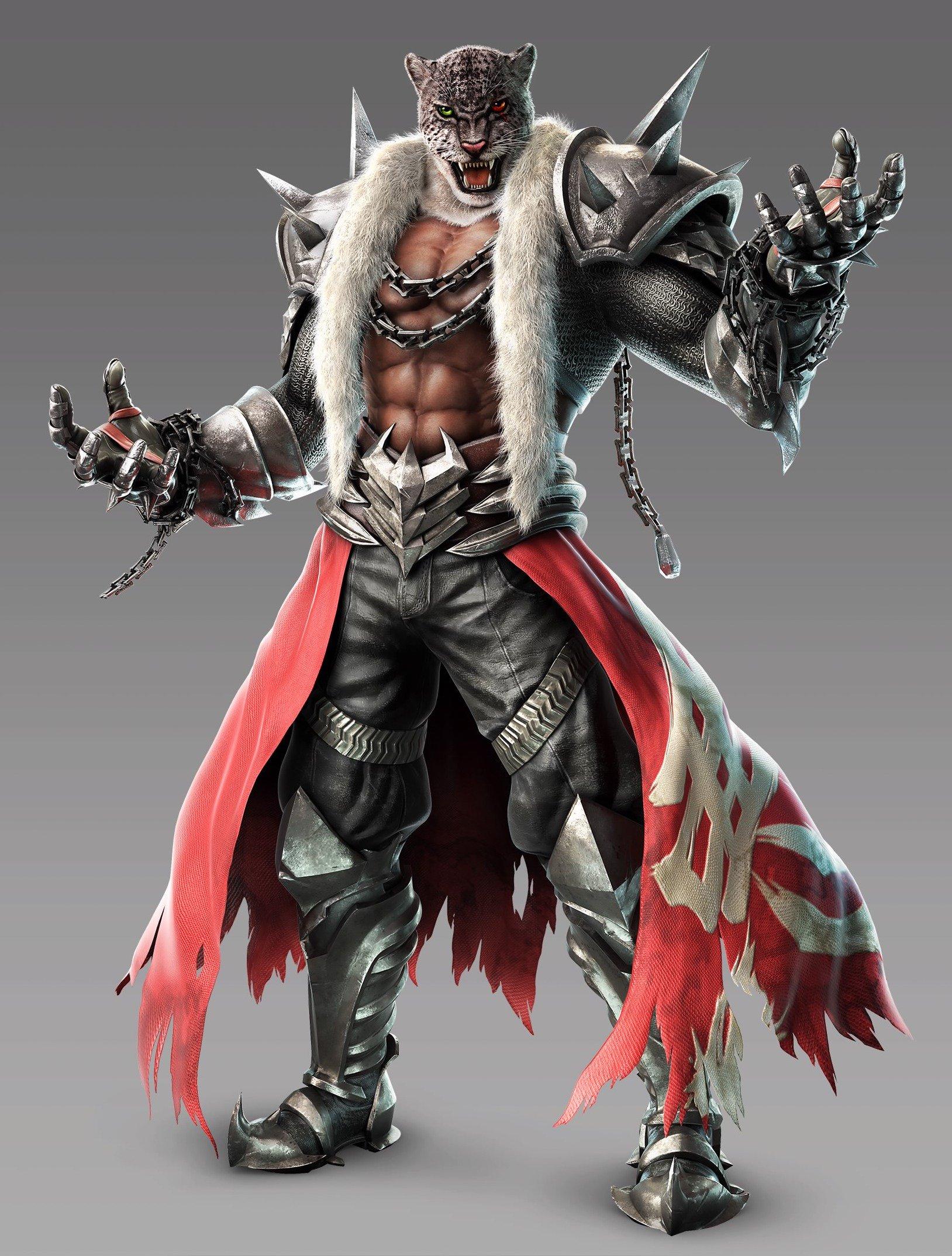 tekken king without mask