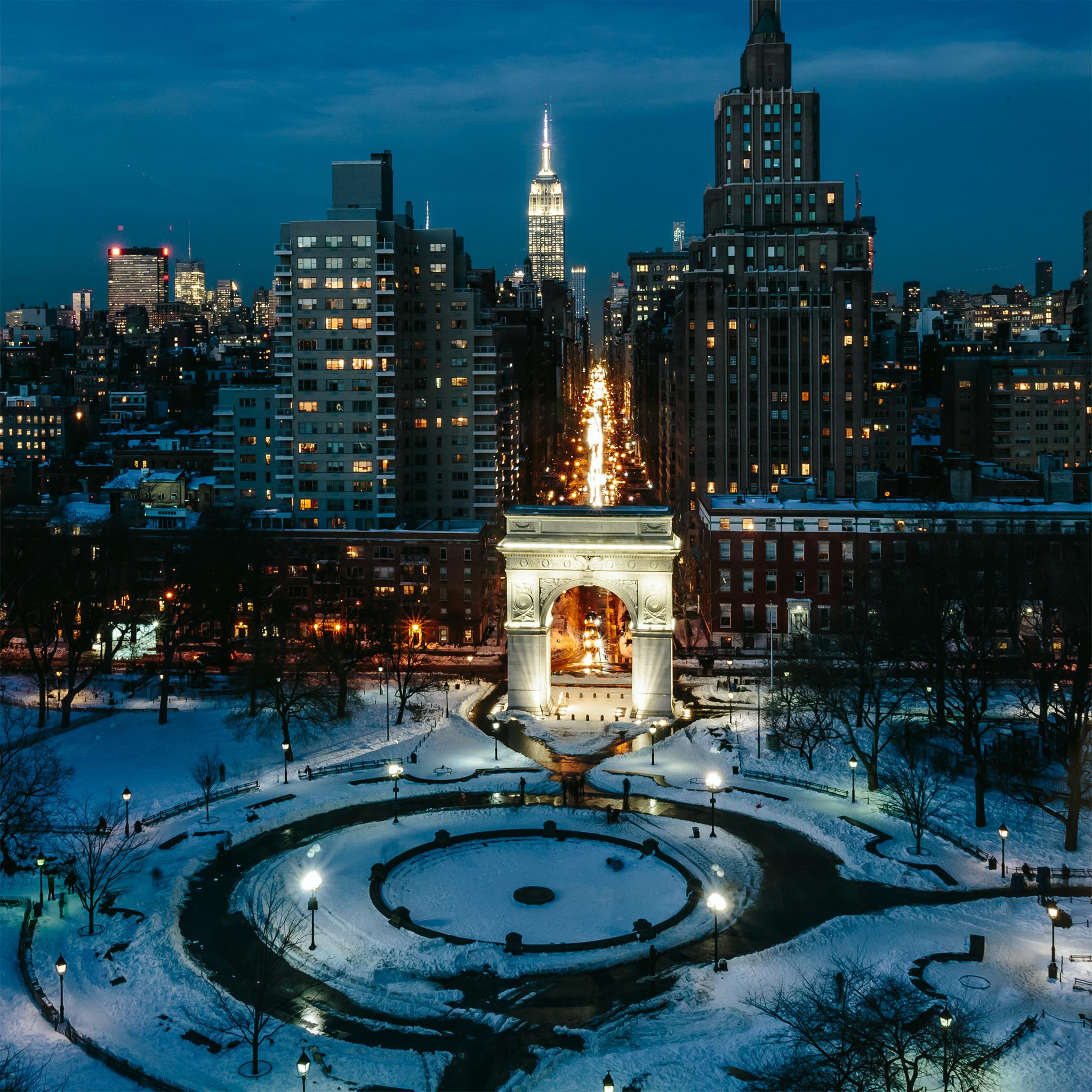 New York University Di Notte Nuovo Sfondo Nuovo Sfondo 2048x2048 Wallpapertip
