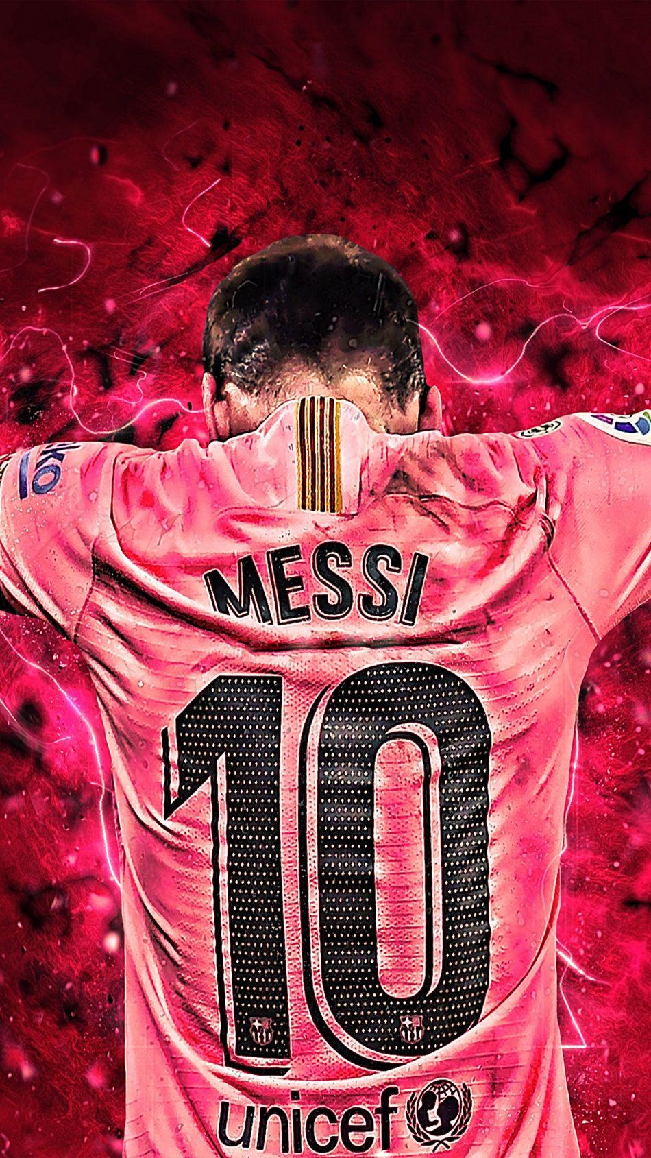 Fond D Ecran Messi 2020 4k Fonds D Ecran De Messi 950x1689 Wallpapertip