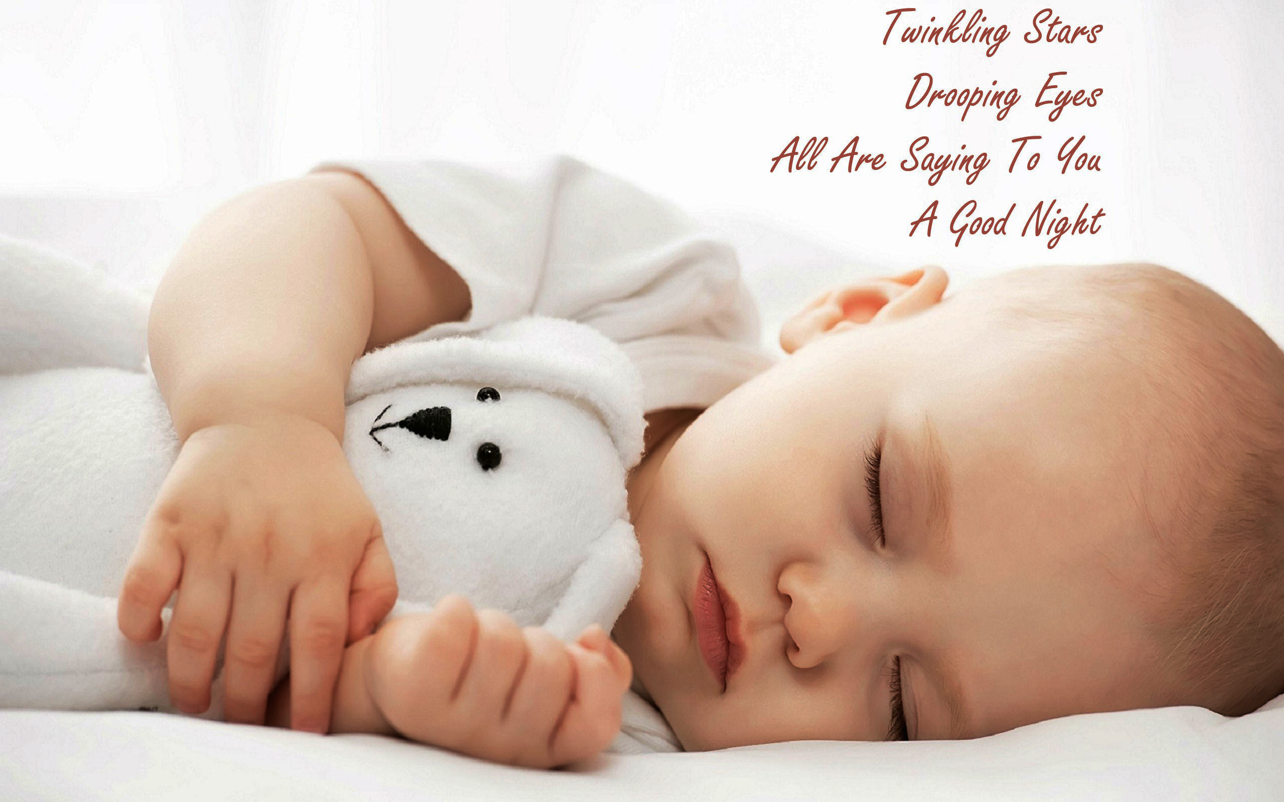 Good Night Baby Hd Wallpaper Sleep For Physical Health 2560x1600 Download Hd Wallpaper Wallpapertip