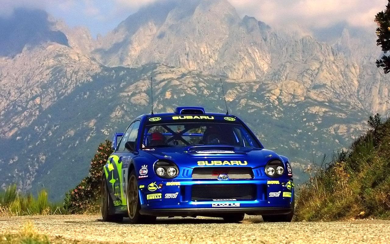 Subaru Impreza Rally Car Fond D Ecran Rallye 1280x800 Wallpapertip