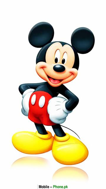 Miki Maus Cartoon Animated Mobile Wallpaper Mickey Mouse Hd Png 360x640 Download Hd Wallpaper Wallpapertip